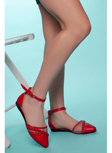 Muggo Klasik Babet Kırmızı